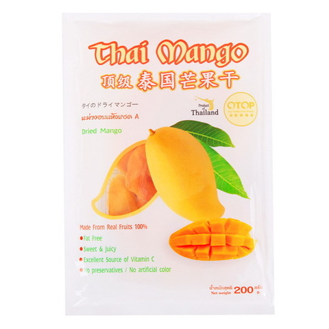 Сушеный манго (King Mango) 200 гр.