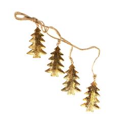 Гирлянда подвесная Golden Trees, 4 шт. EnjoyMe