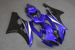 Комплект пластика для мотоцикла Yamaha YZF-R6 06-07 Сине-Черный
