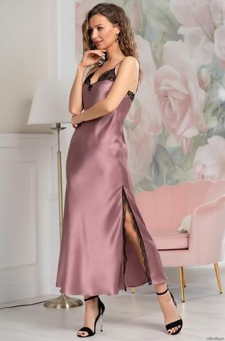 Длинная сорочка женская MIA-Amore OLIVIA ОЛИВИЯ 3648 античная роза