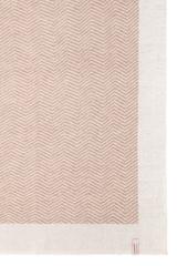 Элитный плед Lux 153 бежевый-белый от Luxberry