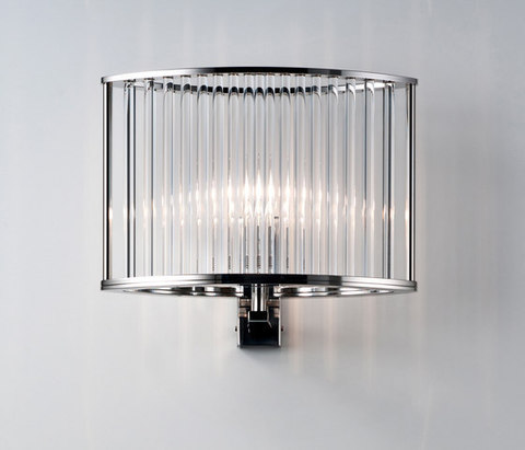 replica  Stilio Tischleuchte Messing ( chrome ) wall lamp