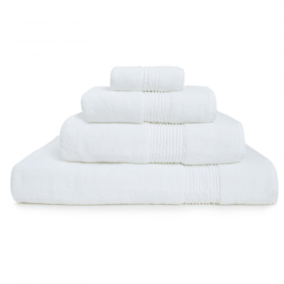 Полотенце 100х150 Hamam Galata Organic белое