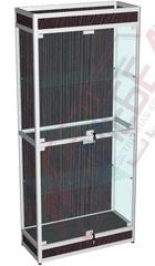 ВА-401-Д Витрина из алюминиевого профиля с подиумом 2000х900х400 мм
