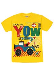 1178-18 футболка детская, желтая
