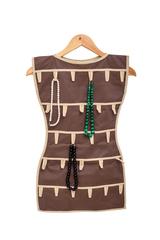 платье для аксессуаров, горький шоколад
