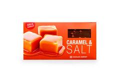 Молочный шоколад со вкусом карамель-соль, 100г