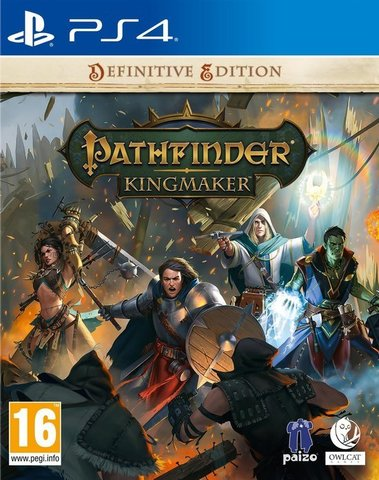 PS4: Pathfinder: Kingmaker Definitive Edition Стандартное издание (русские субтитры)