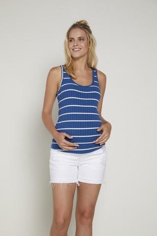 Майка для беременных 09354 синий