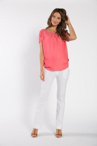 Блузка для беременных 01519 красный