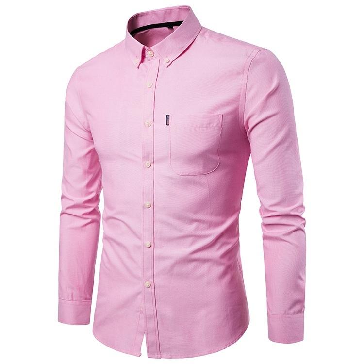 мужские рубашки Мужская рубашка Slim Fit 111.jpg