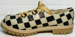 Стильные туфли на низком каблуке Goby TMK6506