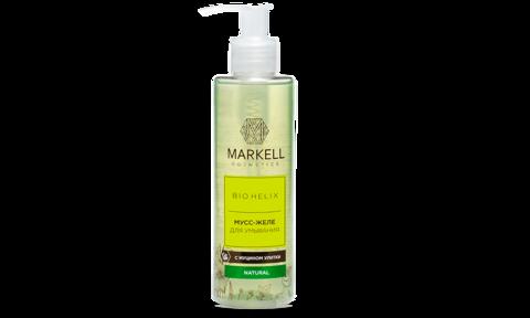Markell Bio-Helix Мусс-желе для умывания с муцином улитки 200мл