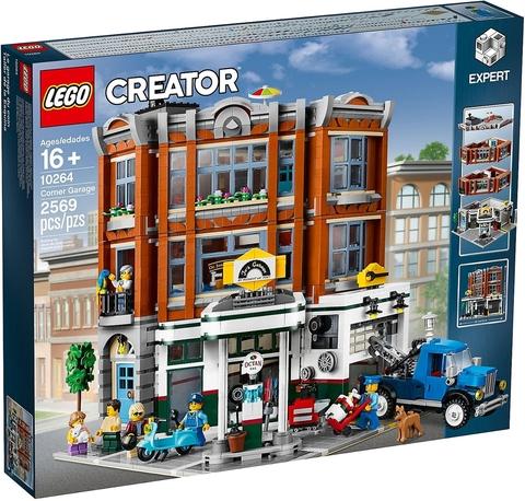 LEGO Creator Expert: Гараж на углу 10264 — Corner Garage — Лего Креатор Создатель Эксперт