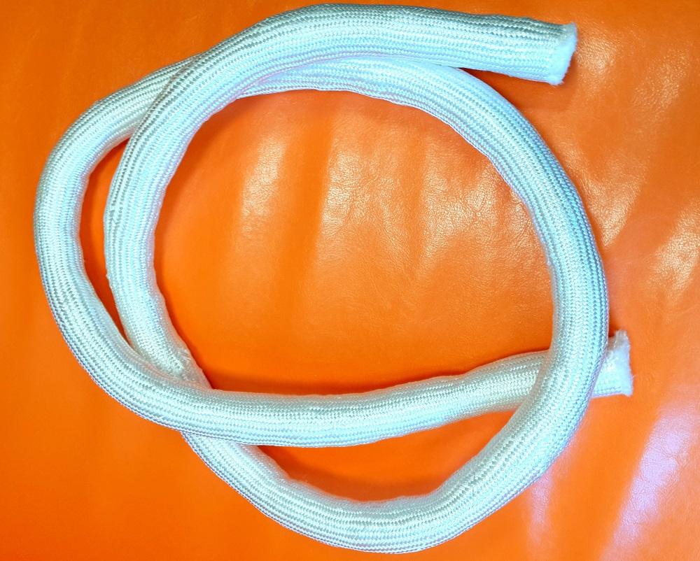 Шнур кремнеземный, наполненный кремнеземным холстом ШКН(Х)