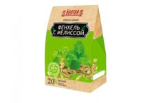 БЕЛТЕЯ  Напиток чайный 20пак Фиточай фенхель с мелиссой при проблемах с пищеварением