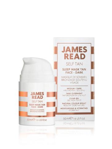 James Read Ночная маска для лица с эффектом загара темная Sleep Mask Tan Face Dark