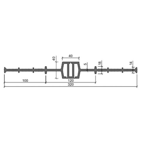 Гидрошпонка ДВ 320 40
