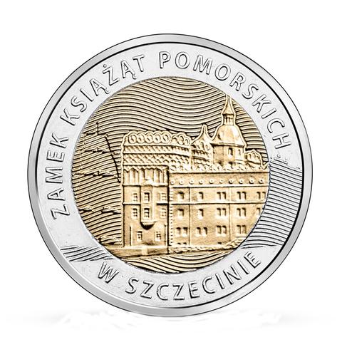 5 золотых Штеттинский замок замок в Щецине 2016