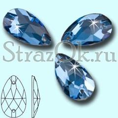 Cтразы пришивные хрустальные Drope Denim Blue Дропэ Дэним Блю купить в интернет магазине