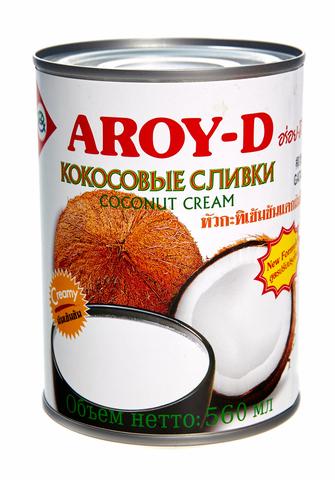 AROY-D Кокосовые сливки 70%, 0,56 л, ж/б