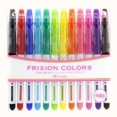Стираемые маркеры Pilot FriXion Colors (12 цветов)