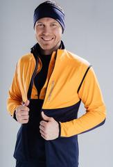 Лыжный жилет Nordski Premium Orange-Blueberry 2020