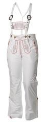 Женские горнолыжные брюки Lois Almrausch 121426-0126 белые фото
