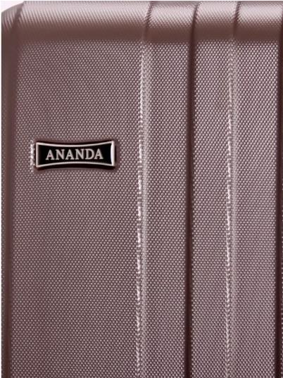 Чемодан Ananda 533 Коричневый ручная кладь (S)