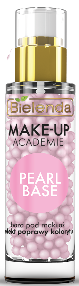 MAKE-UP ACADEMIE PEARL BASE - Розовая база под макияж, эффект улучшения цвета лица, 30 г