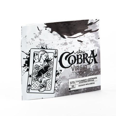 Кальянная смесь Cobra VIRGIN Огуречный Лимонад (Cucumber Lemonade) 50 г