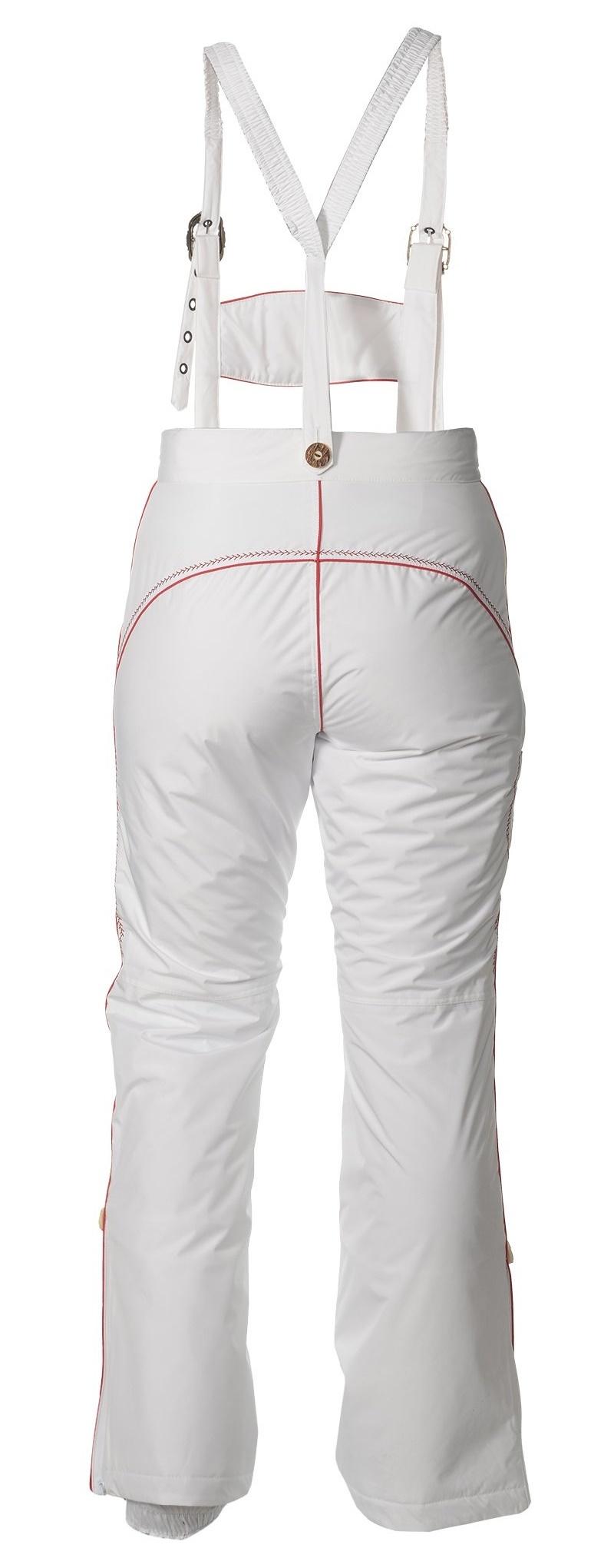 Женские горнолыжные брюки Lois Almrausch 121426-0126 белые
