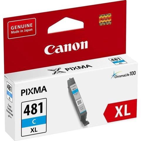 Картридж повышенной емкости Canon CLI-481C XL голубой (2044C001)