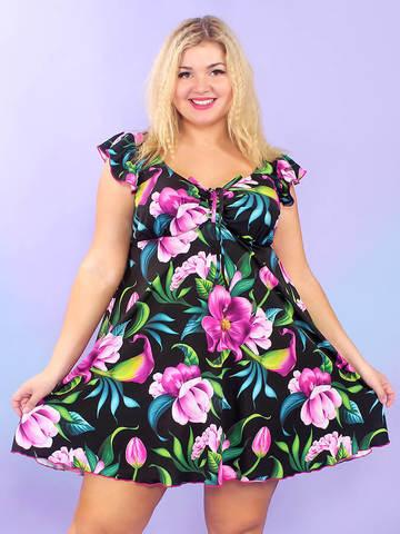 Купальное платье Бора-Бора