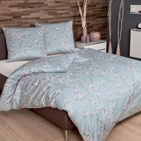 Постельное белье 2 спальное евро Janine Messina 4746 morgenblau