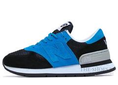 Кроссовки Женские New Balance 990 Blue Black