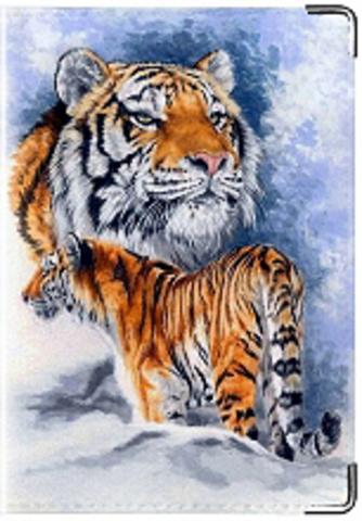"""Обложка для паспорта """"Тигр"""" (2)"""