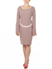 P167-157 платье женское, бежевое