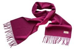 Шерстяной шарф, мужской фуксия 16501