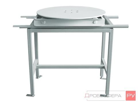 Выдвижной стол для пескоструйной камеры 500 мм поворотный