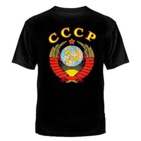 Футболка черная СССР