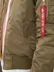 Куртка бомбер Alpha Industries Slim Fit MA-1 Vintage Olive