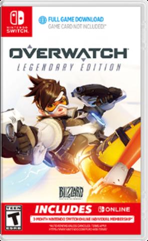 NS: Overwatch Legendary Edition (Код загрузки, без картриджа, русская версия)