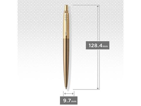 Набор с гравировкой: Ежедневник и Шариковая ручка Parker Jotter Premium, West End Brushed GT123