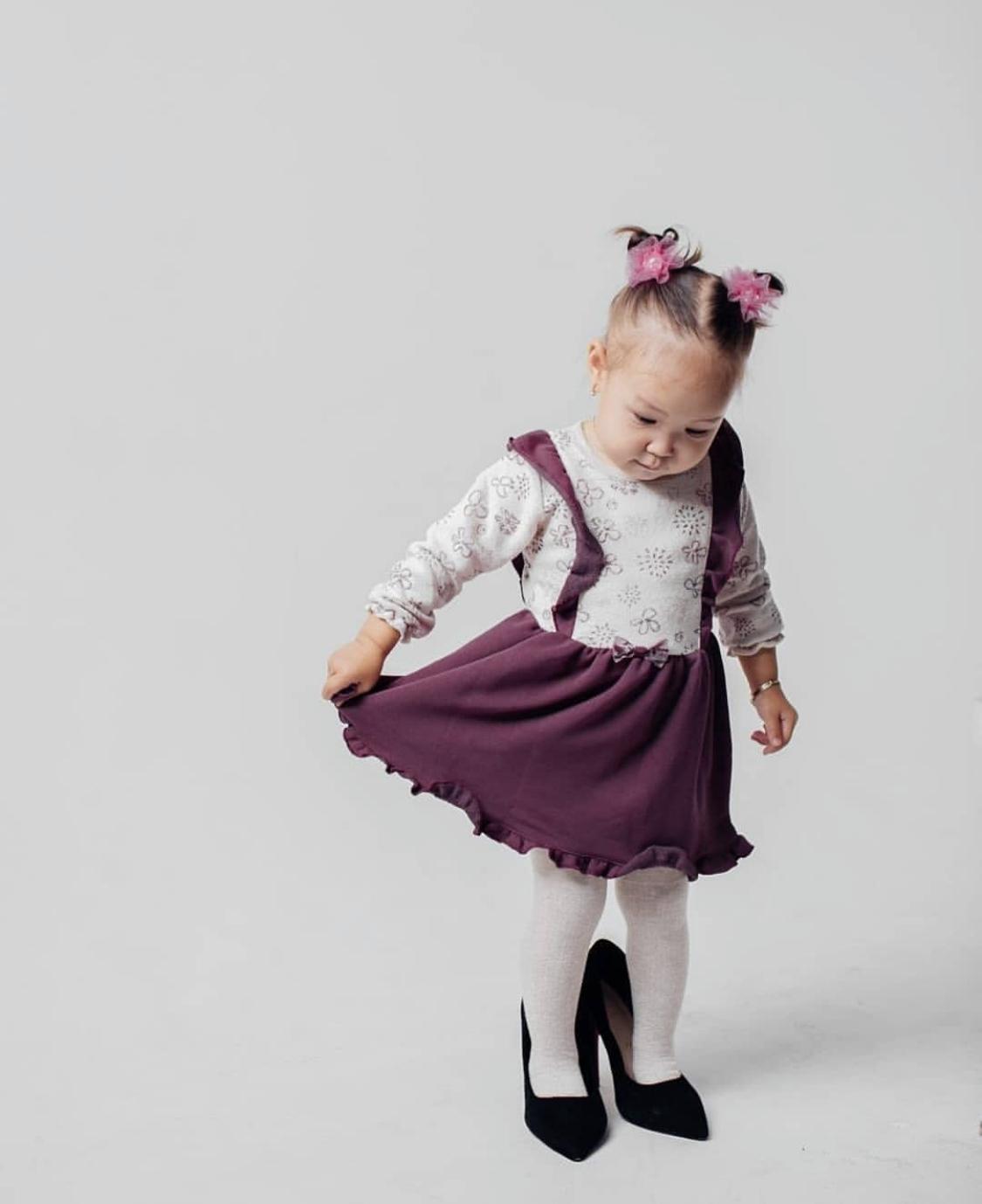 Комплект платье и колготки K 2228
