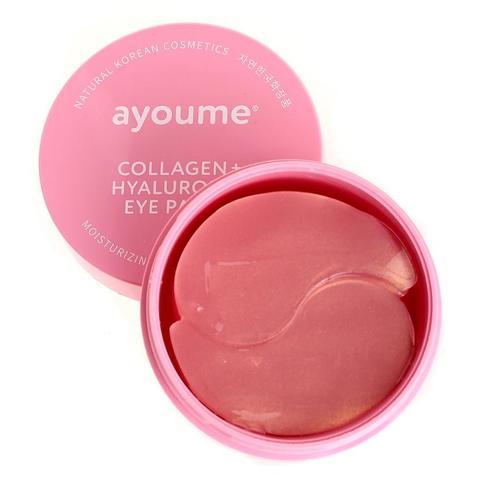 Гидрогелевые патчи для глаз Ayoume Collagen & Hyaluronic Eye Patch с коллагеном и гиалуроновой кислотой
