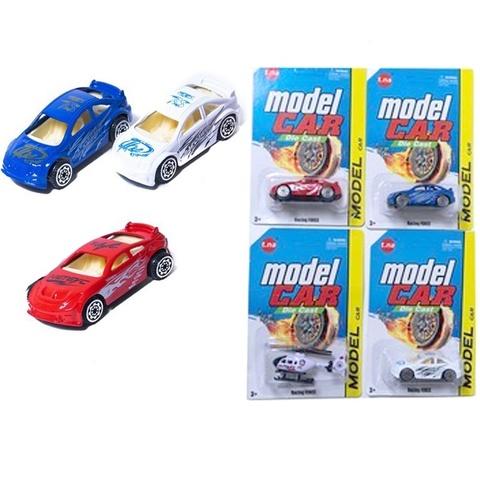 Машина металл мини ModelCar в ассортименте на карт.,1кор*1бл*6шт