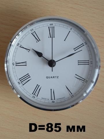 Циферблат часов диаметром 85 мм.