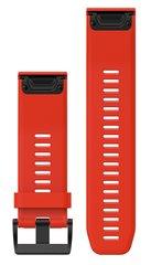 Ремешок силиконовый QuickFit 26 для Garmin Fenix 5X (красный) 010-12517-02