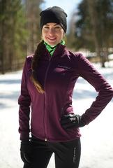 Женская тёплая лыжная куртка Nordski Motion 2019 Purple/Black